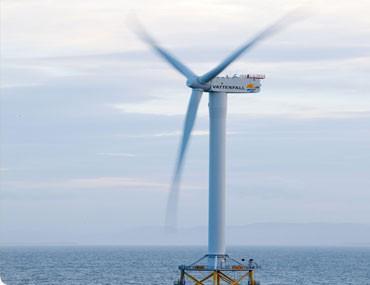 Parc éolien offshore d'Ormonde. (Ben Barden Photography)