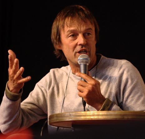 Nicolas Hulot, « désespéré » par la campagne