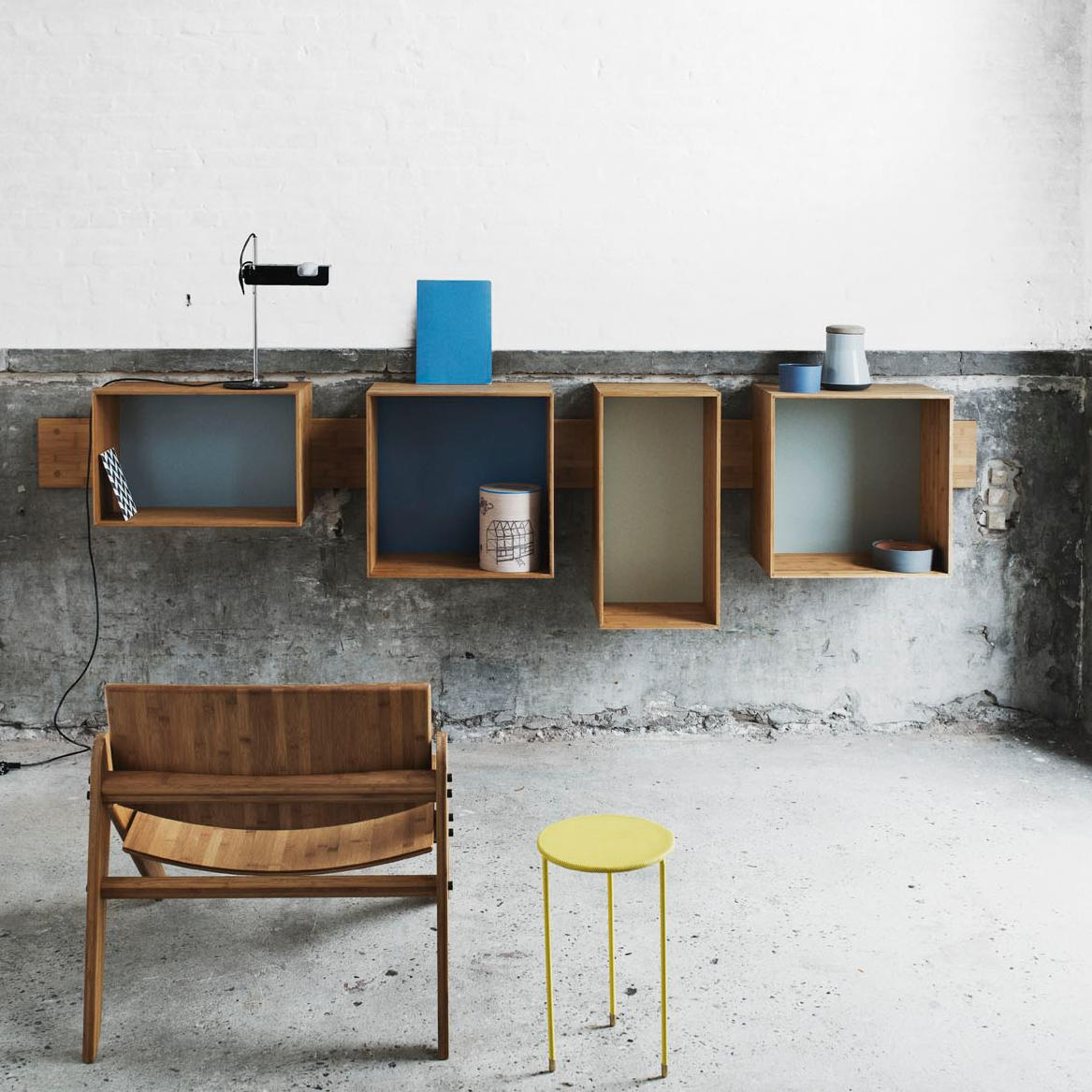 biblioth que murale. Black Bedroom Furniture Sets. Home Design Ideas