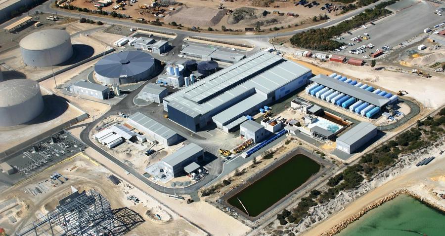 Degrémont - Usine de désalination de Perth (Australie)