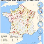 Carte des pesticides en 2011