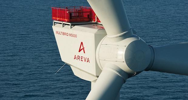 Eolienne offshore d'Areva