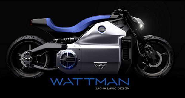 wattman la moto lectrique la plus puissante du monde est fran aise enviro2b. Black Bedroom Furniture Sets. Home Design Ideas