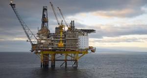 Plateforme pétrolière offshore