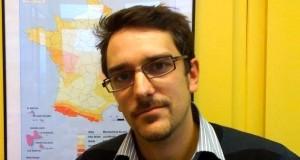 Jérome Vergne, chercheur en géophysique à l'Unistra