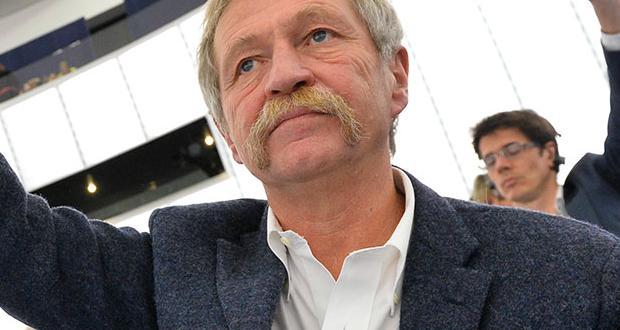 José Bové au Parlement européen