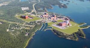 Site nucléaire Olkiluoto en Finlande