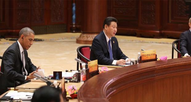 Sommet Apec 2015 Obama Xi Jinping