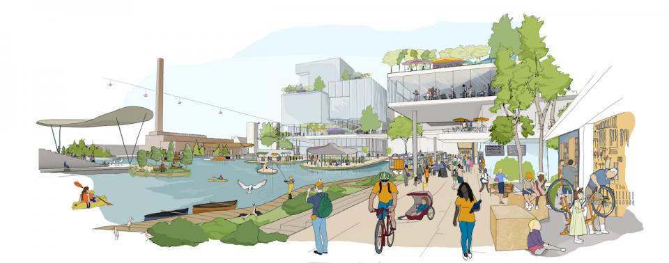 google signe la ville du futur toronto enviro2b