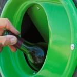 Poubelle recyclage verre