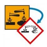 Produits chimiques étiquetage