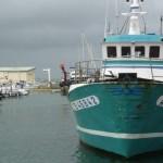 Bateau pêche port
