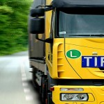 Camion transport routier