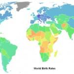 Natalité dans le monde