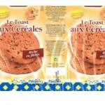 Toasts aux céréales Pasquier