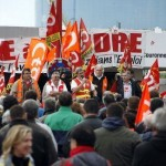 Petroplus Petit-Couronne manifestation