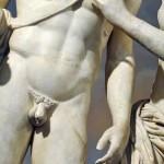 Sexe masculin statue