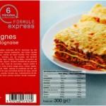 Lasagnes bolognaises Picard