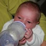 Lait biberon bébé