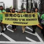 Manifestation anti-nucléaire au Japon (Greenpeace)