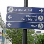 signalétique Grenoble