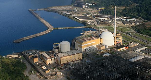 Centrale nucléaire d'Angra au Brésil