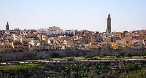 Meknès au Maroc
