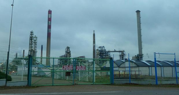 Ex-raffinerie Petroplus de Petit Couronne