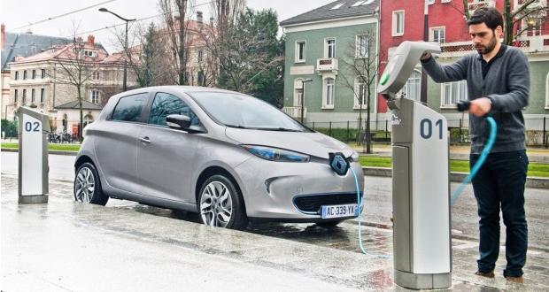 Bornes recharge électriques Renault