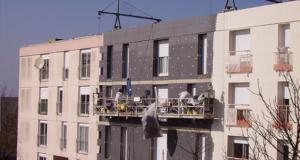 Rénovation facade immeuble